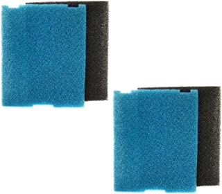 HQRP 2-Pack Submersible Pond Filter/Flat Box Filter Pads Compatible with Tetra SF1, FK5, FK6 Coaster