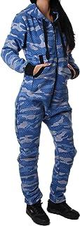Crazy Age damski kombinezon kamuflażowy, ciepły, miękki i przytulny kombinezon Onesie Jogging - strój na czas wolny CA 2850