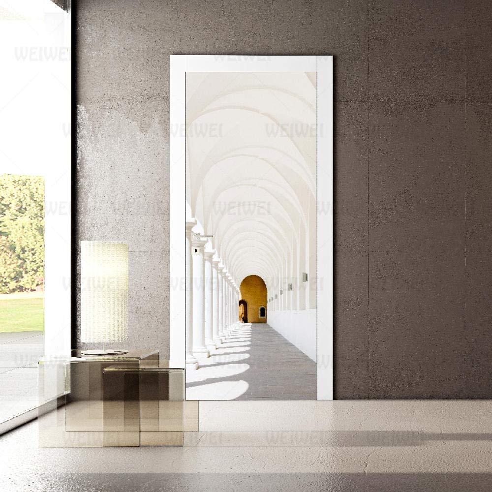 3D Door Murals Popular popular Peel and Stick Ar DIY Max 68% OFF Wallpaper Sticker Wall Home
