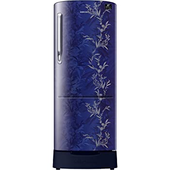 Samsung 230 L 3 Star Inverter Direct-Cool Single Door Refrigerator (RR24T285Y6U/NL, Mystic Overlay Blue)