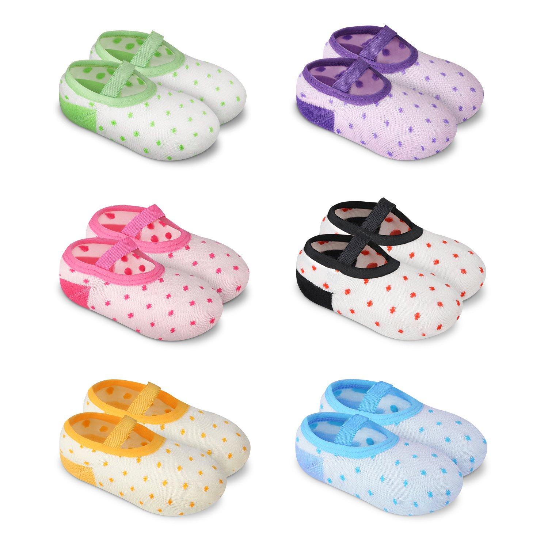 gift YOHOOLYO Baby Socks 6 Pairs Grip Anti Minneapolis Mall Slip Skid for