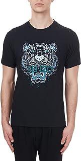 Kenzo Mens Tiger Face Regular Fit T Shirt M Black