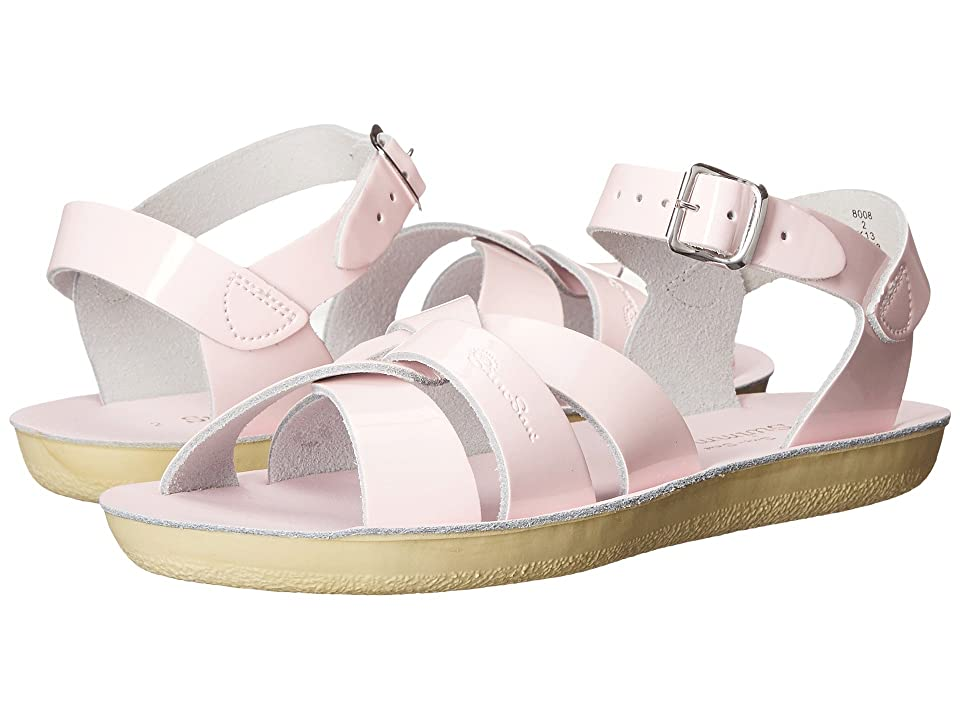 Salt Water Sandal by Hoy Shoes Sun-San Swimmer (Toddler/Little Kid) (Shiney Pink) Girls Shoes