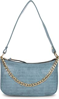 GM CREATIONS™ Leatherette Formal Casual Stylish Shoulder Crossbody side Sling Handbag With Non-Detachable chain strap For ...