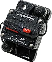 LYCAEA Circuit Breaker for Boat Trolling with Manual Reset,Water Proof,12V- 48V DC