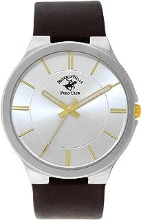 Black Leather Watch (Model:53083)
