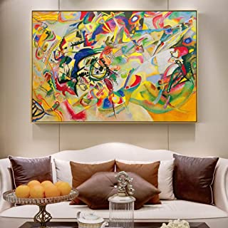 Modern paintings Kandinsky Trente Print Canvas Canvas Home Decor Art