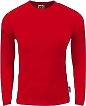 Fitscloth Mens Thermal Long Sleeve Crewneck Waffle Shirt XS-5XL