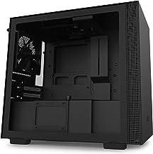 NZXT H210 - Caja PC Gaming Mini-ITX - Panel frontal E/S Puerto USB de Tipo C - Panel Lateral de Cristal Templado - Preparado para Refrigeración Líquida - Soporte para Radiador - Negro