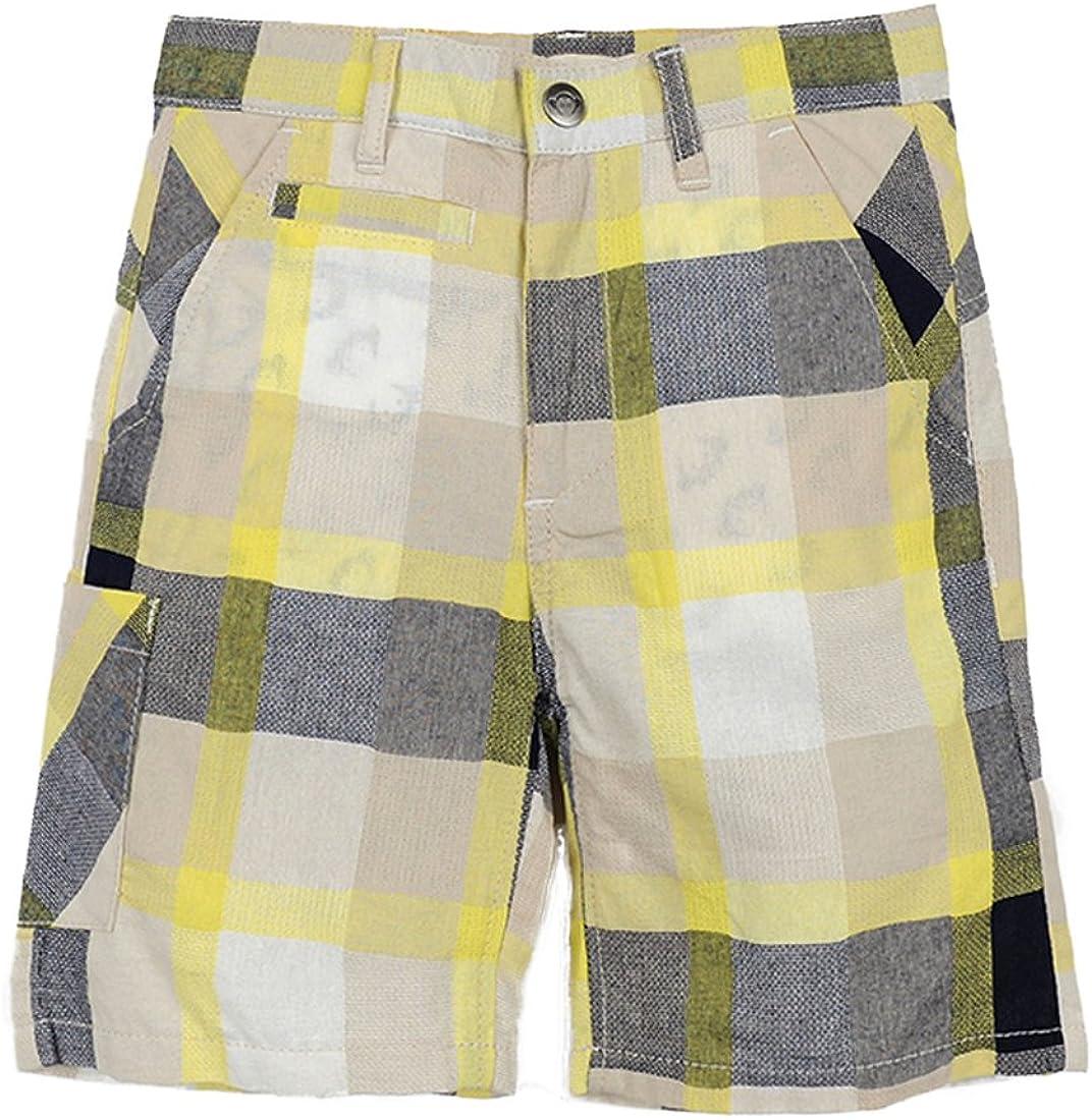 Appaman Little Boys' Seaside Spectra Plaid Shorts