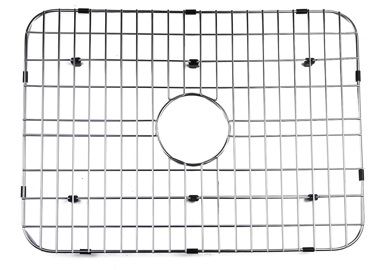 崖レッスン貼り直すALFI brand GR505 Solid Kitchen Sink Grid, Stainless Steel by Alfi