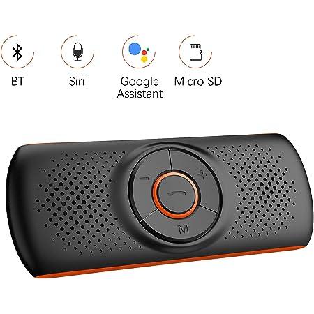 Aigoss Kfz Bluetooth 4 2 Freisprecheinrichtung Mit Siri Elektronik