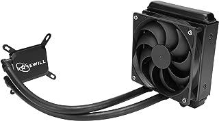 Rosewill CPU Liquid Cooler, Closed Loop PC Water Cooling, Quiet 120mm PWM Fan, Intel LGA 2011/2066/1366/1150/1151/1155/1156/775, AMD AM4/AM3+/AM3/AM2+/AM2/AM1/FM2+/FM1 - PB120
