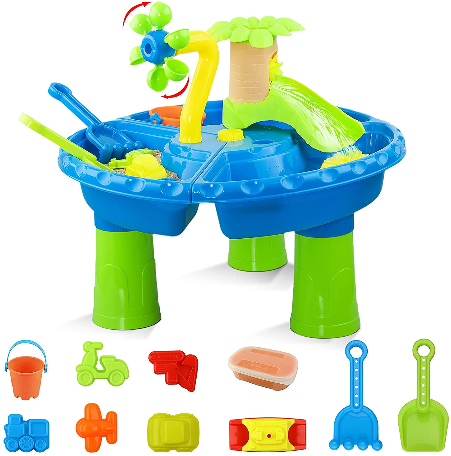 Hot Bee Water Table for Over item handling ☆ Toddlers 1-3 Toddler 3 in Max 86% OFF Toys 1