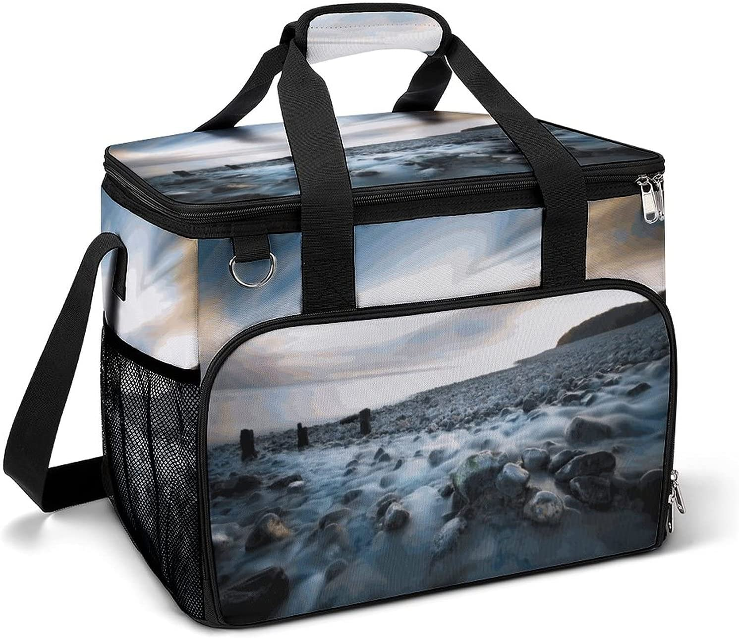 Cooler Ice Bag Planet Space Portable Pattern Capaci Max 78% OFF Courier shipping free shipping Custom Large