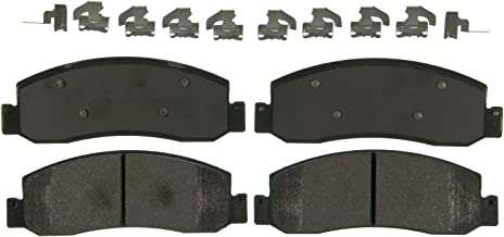 Wagner Severe Duty SX1333 Semi-Metallic Disc Pad Set Includes Installation Hardware, Front