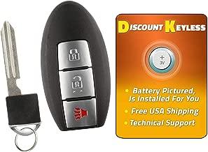 For 13-17 Nissan Pathfinder Keyless Entry Remote Smart Key Fob 3btn W/Insert KR5S180144014