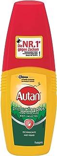 Autan Protection Plus, Pumpspray, Zecken & Insektenschutz für Körper & Gesicht, 100 ml