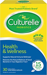Culturelle Health & Wellness Daily Probiotic Dietary Supplement | Restores Natural Balance of in Digestive ...