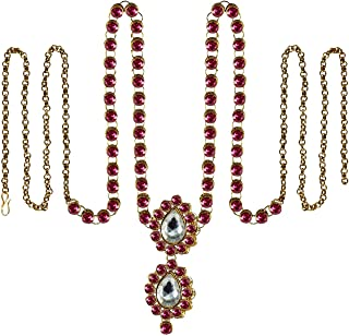 Vidhya Kangan Belly Chains for Women (Pink) (bro365)
