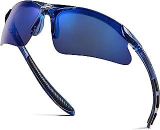 عینک آفتابی بیس بال دوچرخه سواری ورزشی نیم فریم کودکان 3 تا 10 ساله