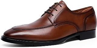[フォクスセンス] ビジネスシューズ 本革 革靴 紳士靴 メンズ ドレスシューズ 本革 ロングノーズ Uチップ プレーントゥ 外羽根