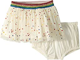 Honey Tulle Polka Dot Skirt (Infant)