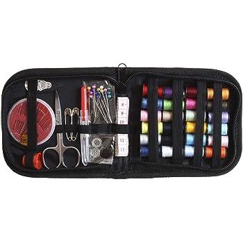 iGadgitz Home U7003 - Mini Costurero Viaje de 66 piezas Kit Costura Accesorios Set Costura Portátil con Estuche para Adultos, Viajes, Hogar y Uso de Emergencia: Amazon.es: Hogar
