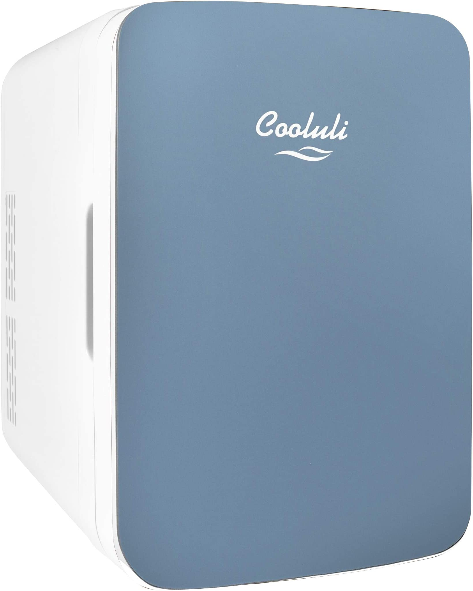 Cooluli Infinity Blue 40 Liter Compact Portable Cooler Warmer Mini Fridge  for Bedroom, Office, Dorm, Car   Great for Skincare & Cosmetics ...