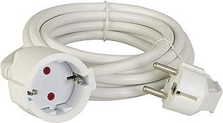 Unitec - 44542 Schuko H05VV-F 3G Extension Cord 1.5 mm² / 5 m White (German Import)
