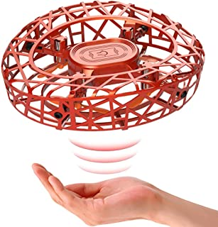 Marsmo Hand Controlled Drone for Kid, Easy Hands Operated Flying Toys Gravity Suspension Indoor Mini Aircraft Helicopter with 360° Rotating & LED Lights for Boys Girls Teenagers