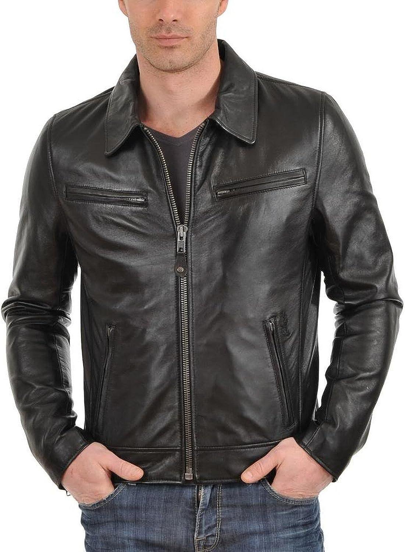 Laverapelle Men's Genuine Lambskin Complete Free Shipping Black Jacket Aviato Leather 5% OFF