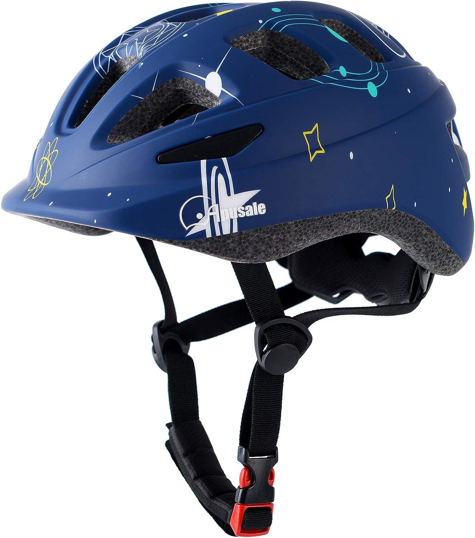 Apusale Toddler Kids Bike Helmets,Scooter,Cycling Skating Skateboard Helmet for Boys Girls