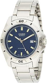 ساعة يد بسوار ستيل للرجال من كاسيو
