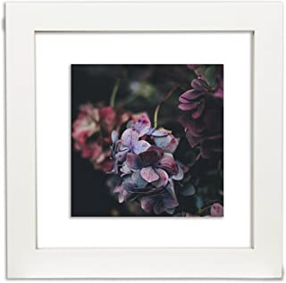Gallery Solutions 12x12 White Float Frame For Floating Display of 10x10 Image