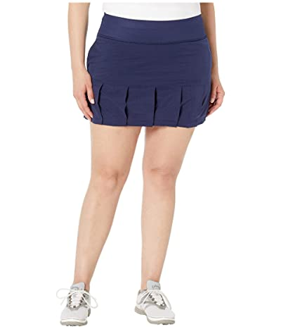 PUMA Golf PWRSHAPE On Repleat Skirt (Peacoat) Women