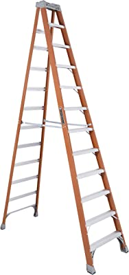 Louisville Ladder FS1523 Fiberglass Ladder, 12 Feet