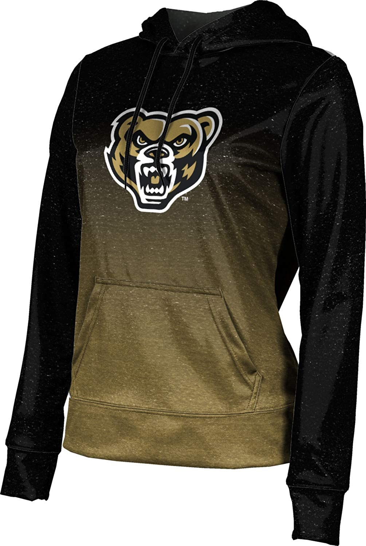ProSphere Oakland University Girls' Pullover Hoodie, School Spirit Sweatshirt (Ombre)