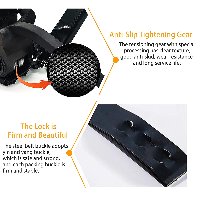 SDRTOP Steel Strapping Tool Metal Manual Banding Tensioner Machine ...