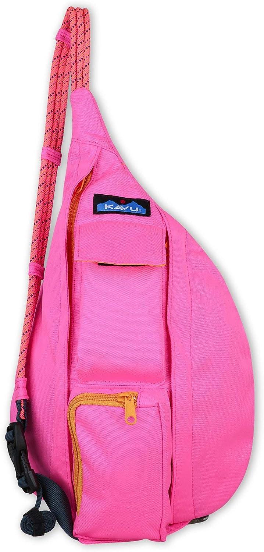KAVU Mini Rope Sling Bag-Pop Pink