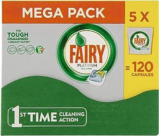 Fairy–Platinum Todo en Uno Lavavajillas 120 Tablets (5x24 pack)