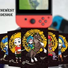 23Pcs NFC Tag Game Cards for The Legend of Zelda Breath of The Wild Special Black Version for Switch/Wii U Cards with Card Box (Mini)