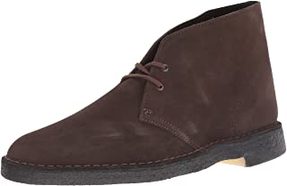 CLARKS Originals Men's Brown Suede Desert Boot 10.5 D(M) US