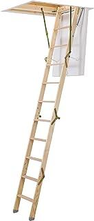 Dolle ClickFix Mini - Escalera plegable de madera (925 x 700 mm)