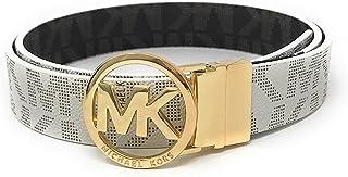 Michael Kors MK Firma Monogram hebilla de cinturón y Reversible