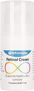 DrFormulas Retinol Cream for Face with Hyaluronic Acid Acne Treatment | Dermatrope for Teens, Men & Women with Oily Acne Prone Skin, Non-comedogenic Moisturizer (0.26 Fl Oz)