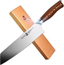 TUO Cutlery - Kiritsuke Chef's Knife - Germany Stainless Steel - Kitchen Knife With Erqonomic Handle (Fiery 8.5