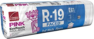 Owens Corning R-19 Faced Fiberglass Insulation