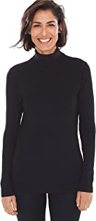 Women's Coolmax Pullover Turtleneck Sweater with Moisture Wick Technology