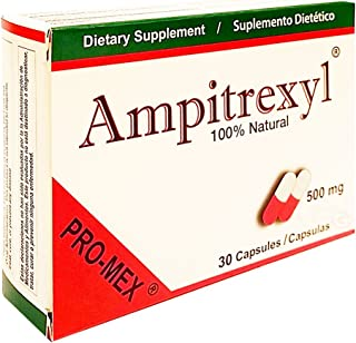 Ampitrexyl 500mg Capsules, Size: 30 by Pro-Mex LLC